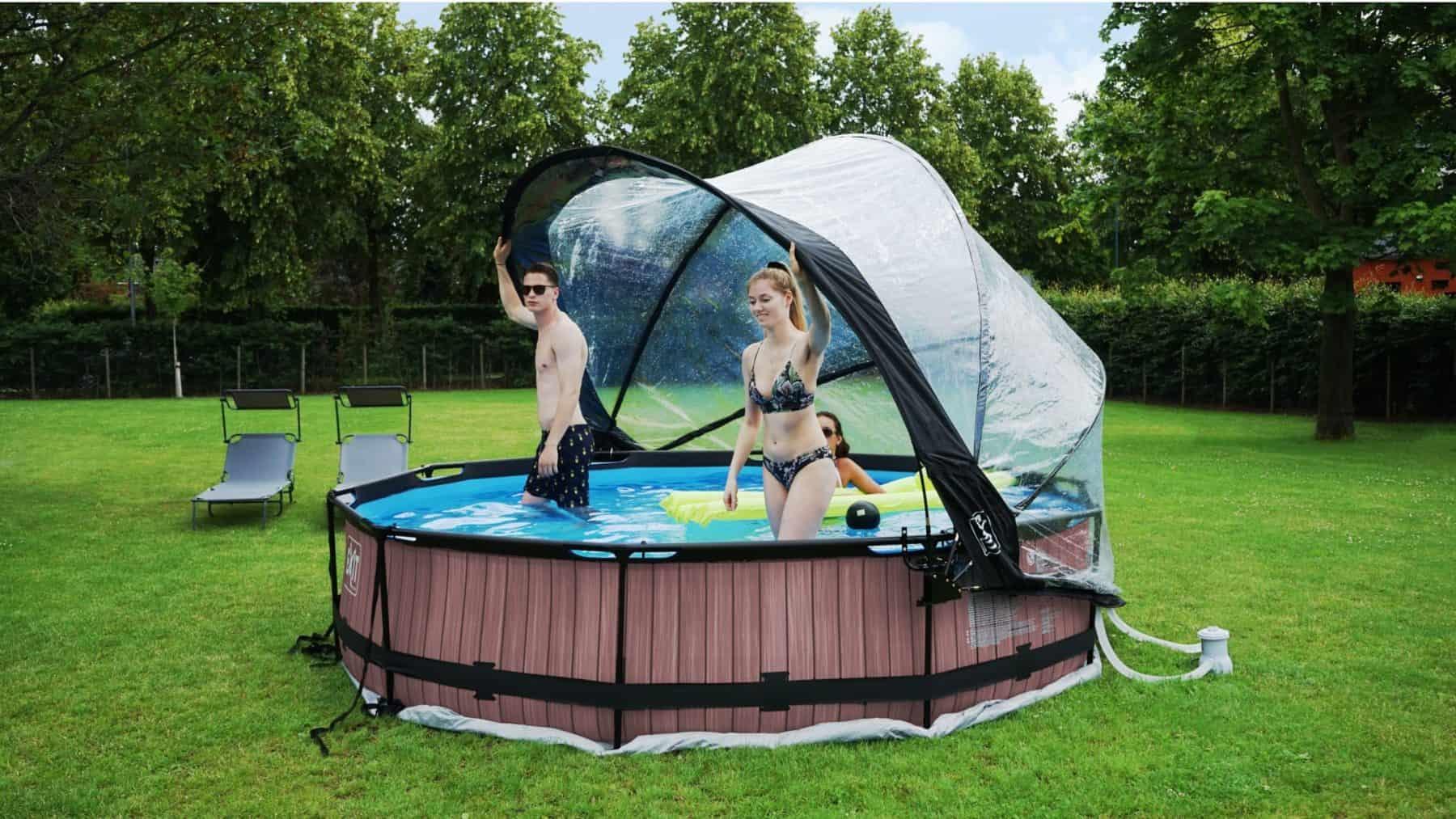 Exit Toys pool mit Sonnendach 300x76 cm