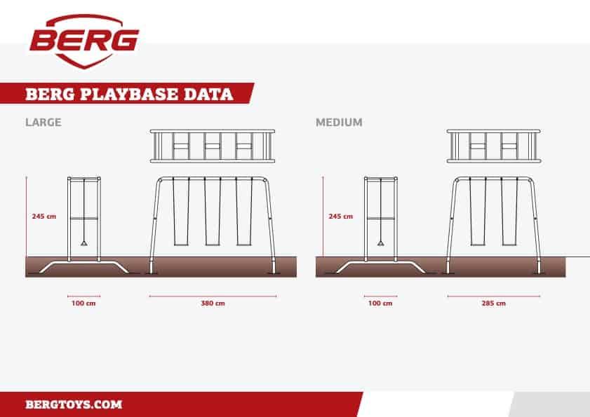 BERG Playbase Datenblatt
