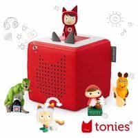 Toniebox in rot mit Tonies